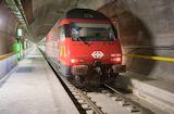 Gotthard-Basistunnel mit Sonderzug Gottardino